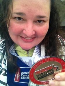 I am a marathoner!